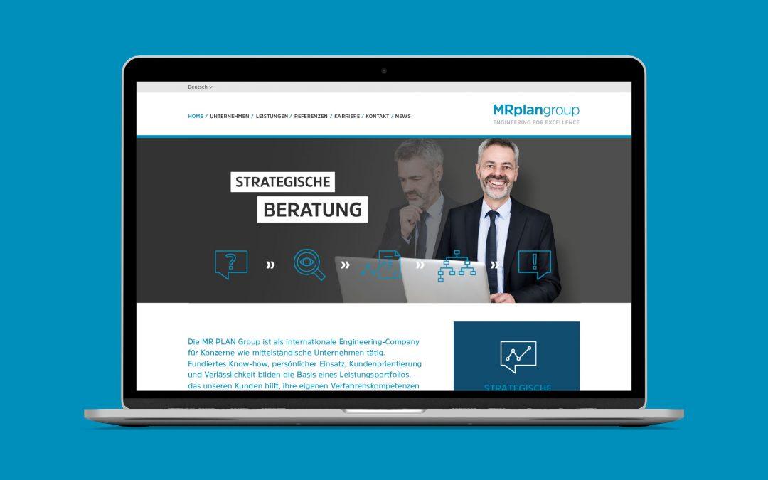 MR PLAN Group – Website