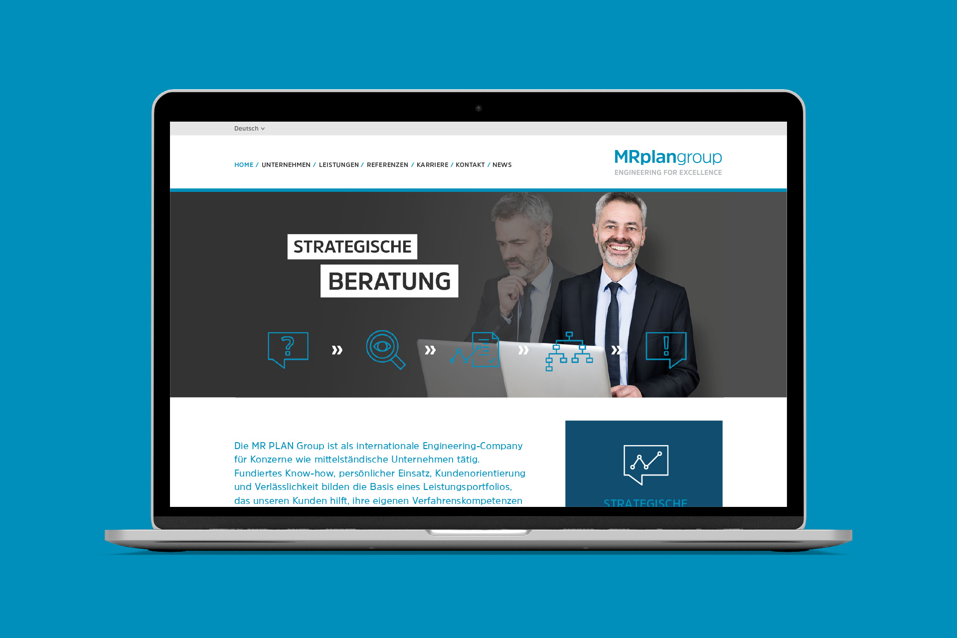 MR PLAN Group – Website