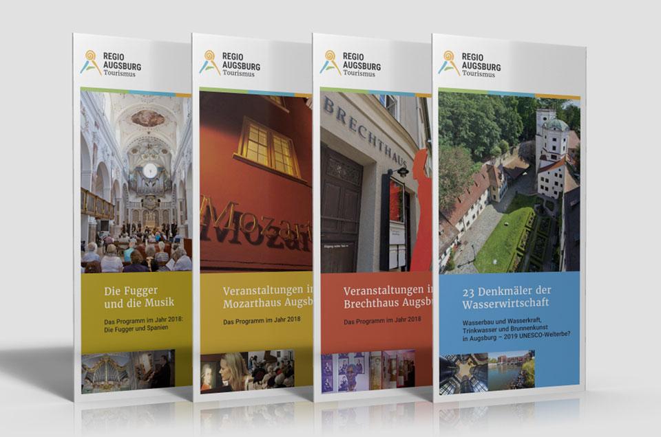 Regio Augsburg Tourismus – Programmbroschüren