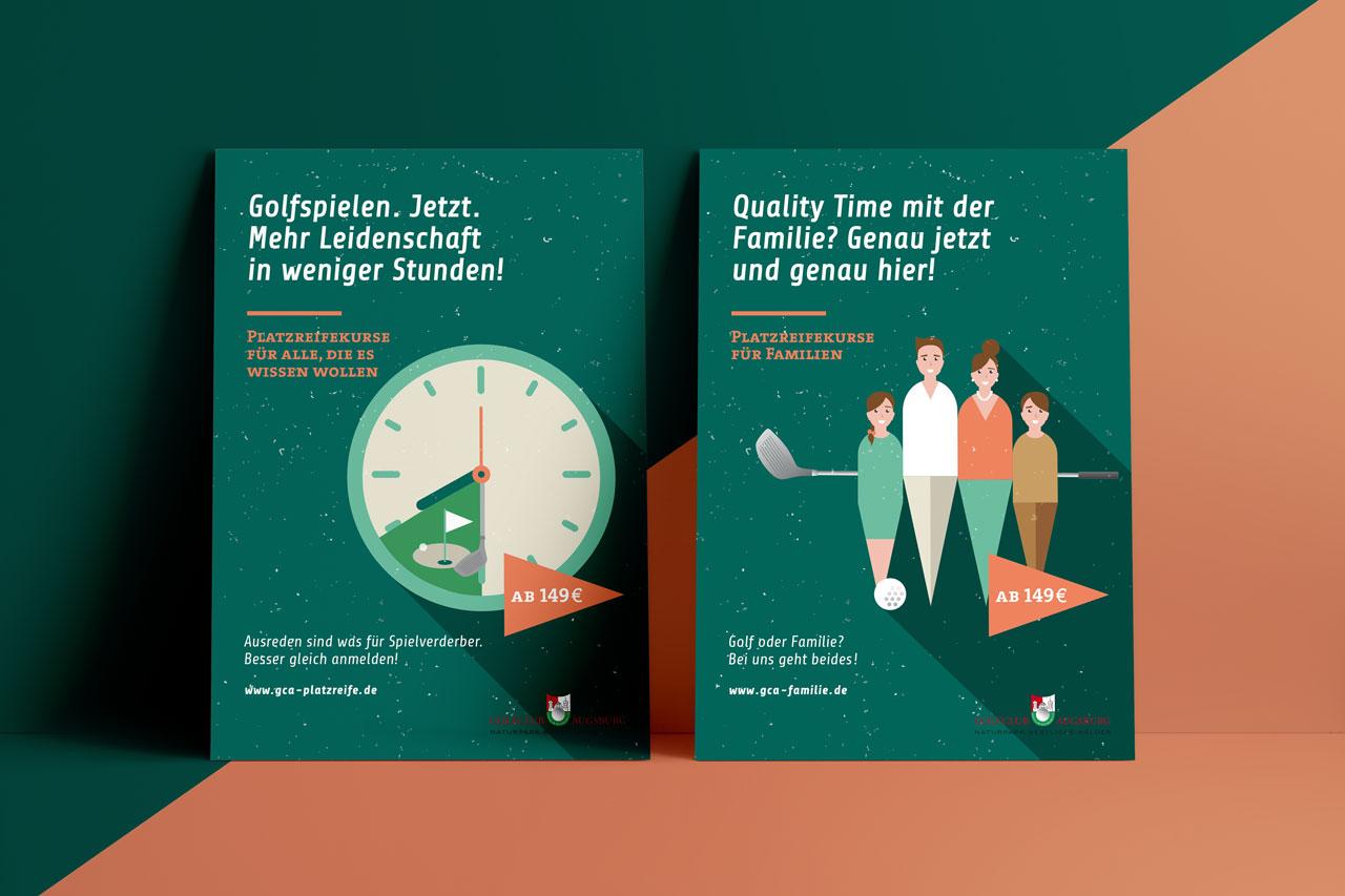 Golfclub Augsburg – Kampagne